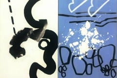 Peter Griffen_North Coast Diptych 2013 acrylic on canvas 76x102cm - Version 2