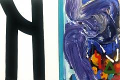 South Coast Estuary Diptych 2013 acrylic oncanvas 40x60cm $1,500