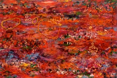 Checking the Dams 2009 oil on canvas 130x190cm $14,500 JPG