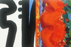 Cockburn Range Mazes no 2 2013 acrylic on canvas 30x49cm