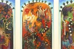 Griffen_Peter_Trinity Hills_2013_acrylic on canvas_3@91x6191x61cmcm(full width 201cm) jpg - Version 2