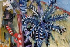 Tropical Tree 2 acrylic on canvas 61x50cm
