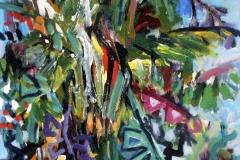 Tropical Tree acrylic on canvas 41x56cm