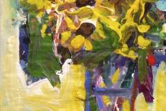 Sunflowers 1 2007 acrylic on paper 66x46cm